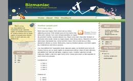 Bizmaniac Blogger Theme