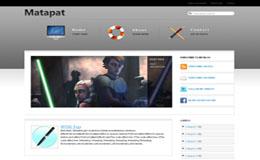 Matapat Blogger Theme