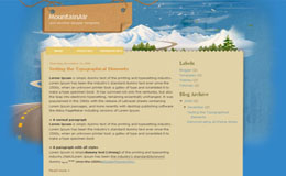 Mountain Air Blogger Theme