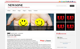 NewsOne Blogger Theme