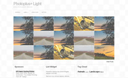 Photoplus Light Blogger Theme