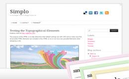 Simplo Blogger Theme