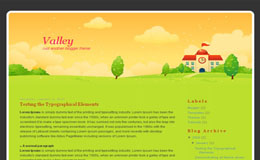 Valley Blogger Theme