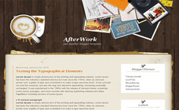 AfterWork Blogger Theme