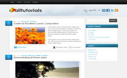 All Tuts Blogger Theme