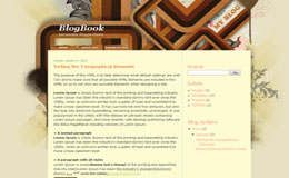 Blog Book Blogger Theme