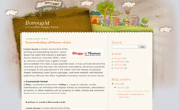 Borough Blogger Theme