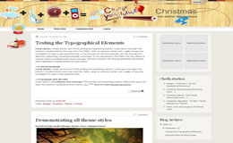 Christmas V2 Blogger Theme