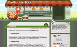 DeliciousFood Blogger Theme