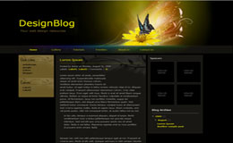 Design Blog Blogger Theme