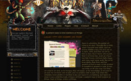 Diablo Blogger Theme