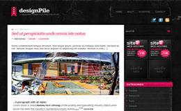 DesignPile Pink Blogger Theme