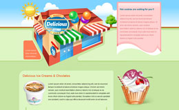 Delicious Store Blogger Theme