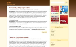 Elite Blogger Theme