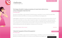 Fashionise Blogger Theme
