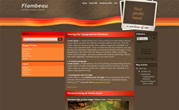 Flambeau Blogger Theme