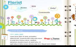 Florist Blogger Theme