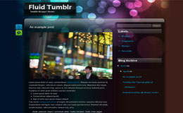 Fluid Blogger Theme