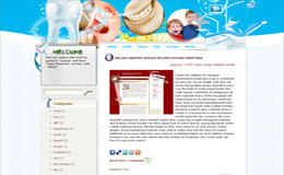 For Teeth Blogger Theme