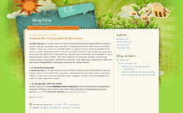 Green Blogger Theme