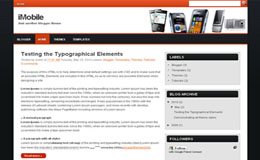 iMobile Blogger Theme
