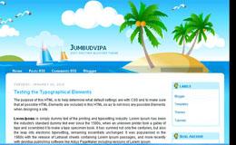 Jumbudvipam Blogger Theme