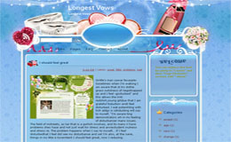 Longest Vows Blogger Theme
