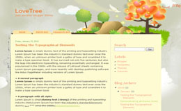 LoveTree Blogger Theme