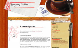 Morning Coffee Blogger Theme