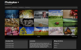 PhotoPlus Blogger Theme
