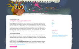 Sentry Owl Blogger Theme