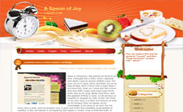 Spoon of Joy Blogger Theme
