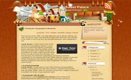 Sweet Palace Blogger Theme