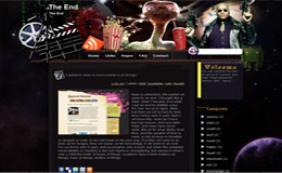 The End Blogger Theme