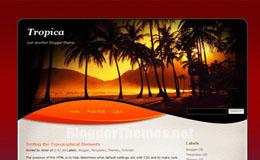 Tropica Blogger Theme