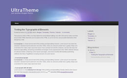 Ultra Theme Blogger Theme