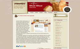 Whole Wheat Blogger Theme